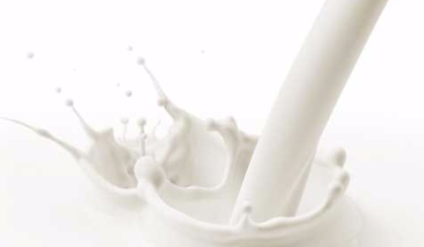 splashing milk